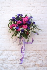 One of many beautiful baskets you\'ll see May lst.