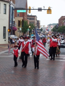 The Fife and Drum kicks off the Annapolis July 4th Parade
