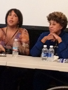 Angela Gibbs and Marla Gibbs at Annapolis FIlm Festival