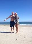 Peter & Alex at the Beach