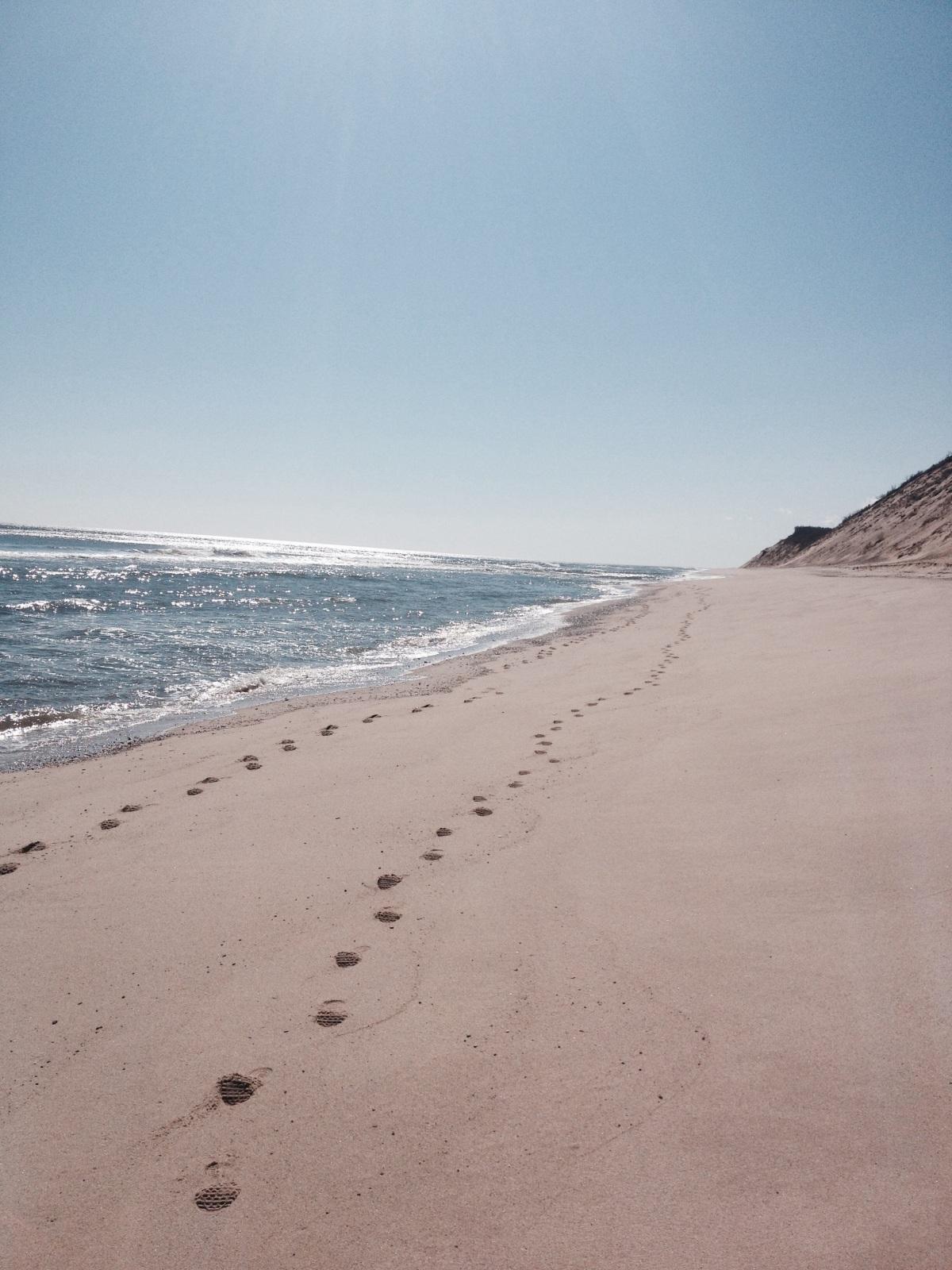 Long Nook Beach Truro AfterWinter